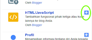 Pilih HTML/JavaScript pada menu pop-up yang muncul.