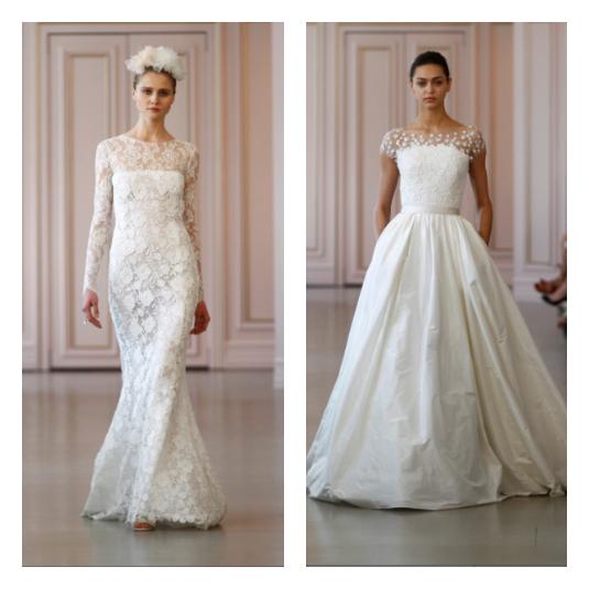 Friday Inspo Oscar De La A S Vintage Inspired Wedding Dresses For Spring 2016