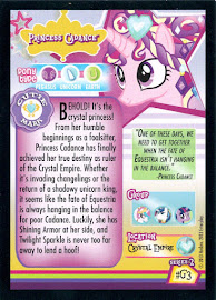 My Little Pony Princess Cadance Series 2 Trading Card