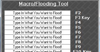 macro flooder