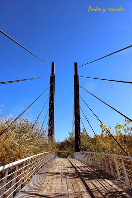 Puente colgante, yacimiento romano Carranque