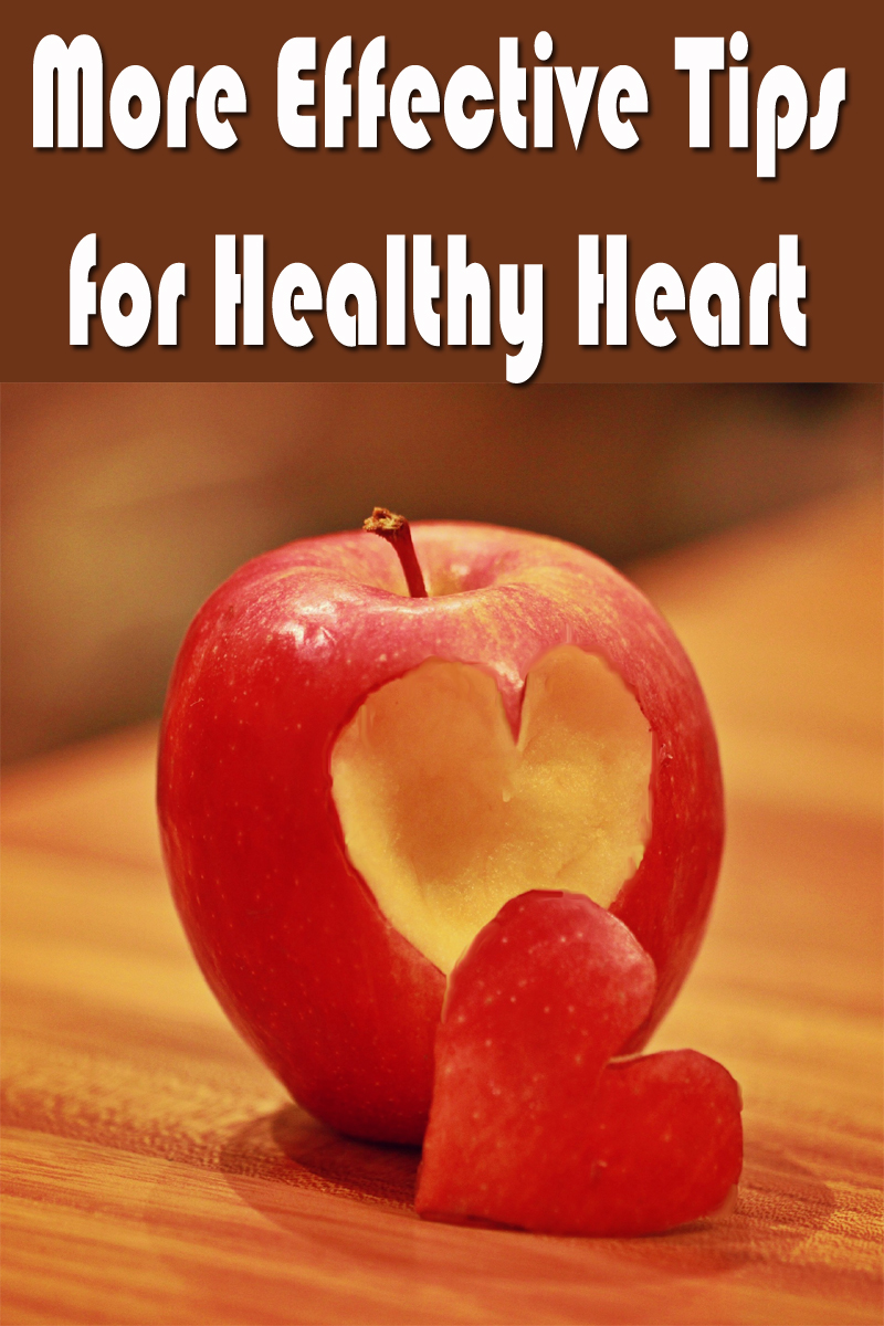 More Effective Tips for Healthy Heart