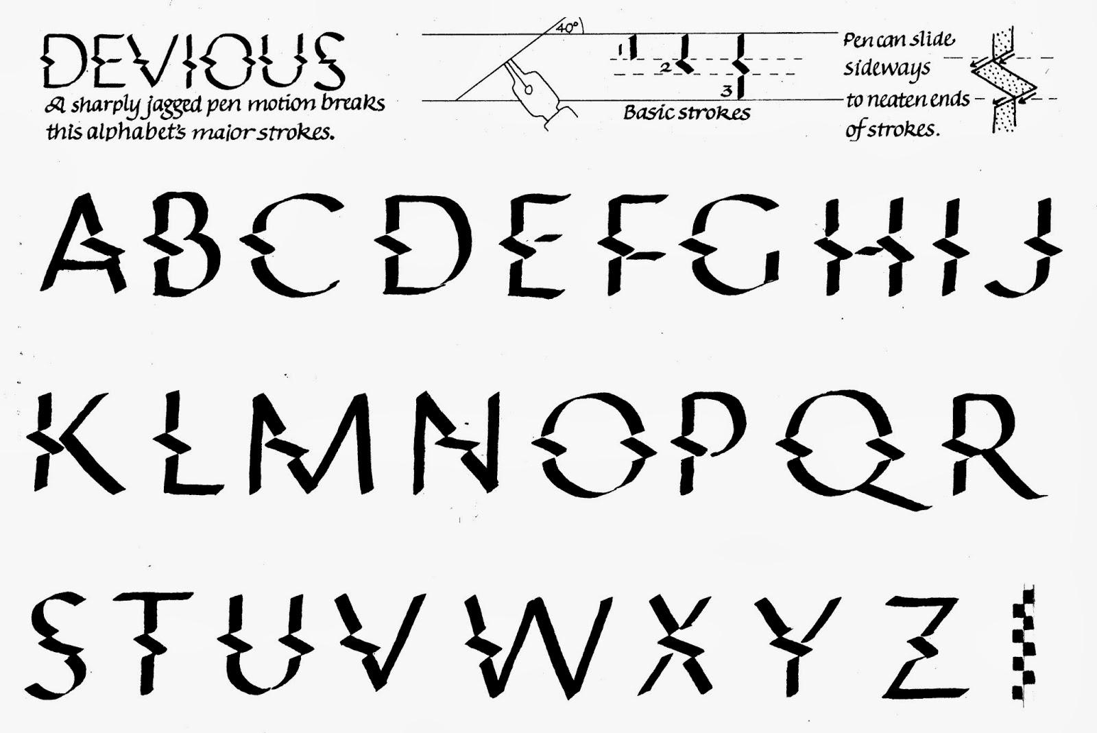 Margaret Shepherd: Calligraphy Blog: 250 Devious