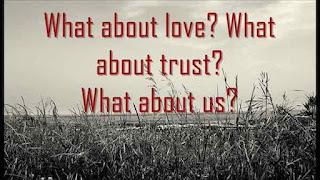 Immagine con il testo della canzone What about us di Pink