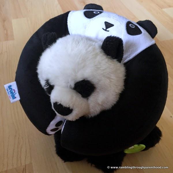 Toy Panda modelling Yondi  by Trunki