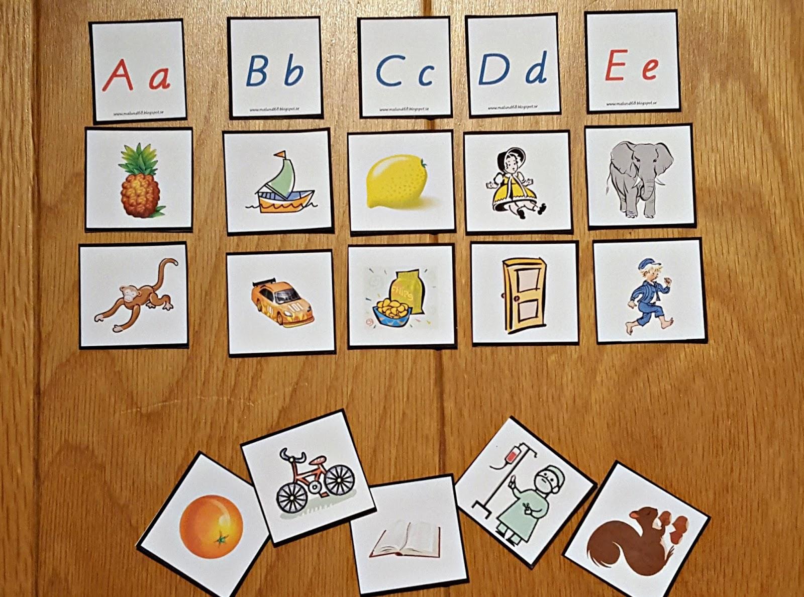 alfabetet bilder gratis