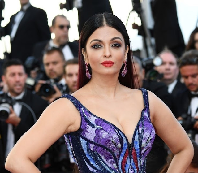 Aishwarya Rai Looks Ethereal in Michael Cinco at Cannes 2018