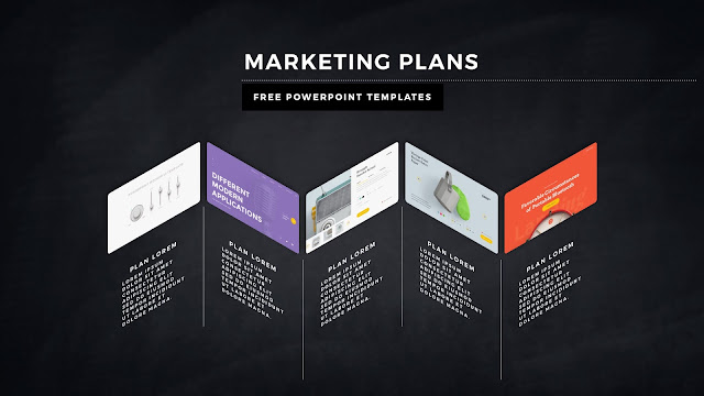 Infographic Marketing Plan Free PowerPoint Template Slide 5