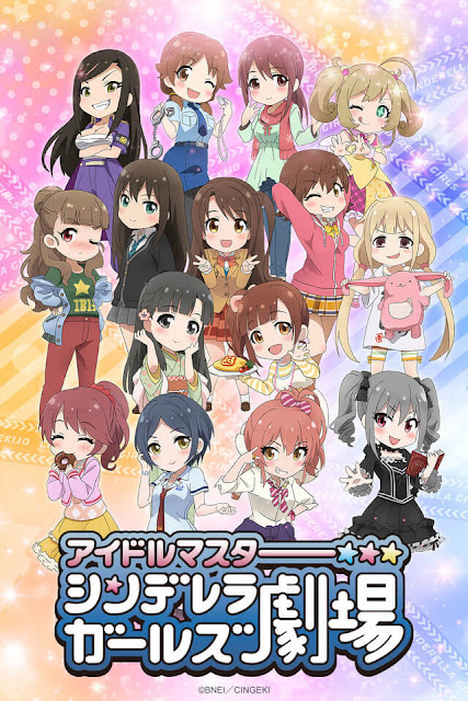 """The Idolm@ster Cinderella Girls Theater"" Season 3 Akan Tayang Pada July 2018!!!"