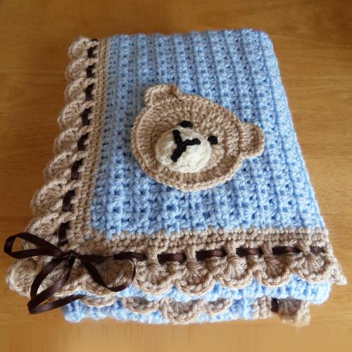 Baby Blue Tiramisu - Free Pattern