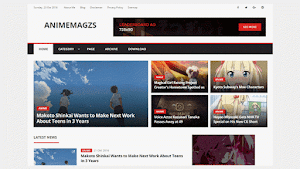 AnimeMagzs Blogger Template