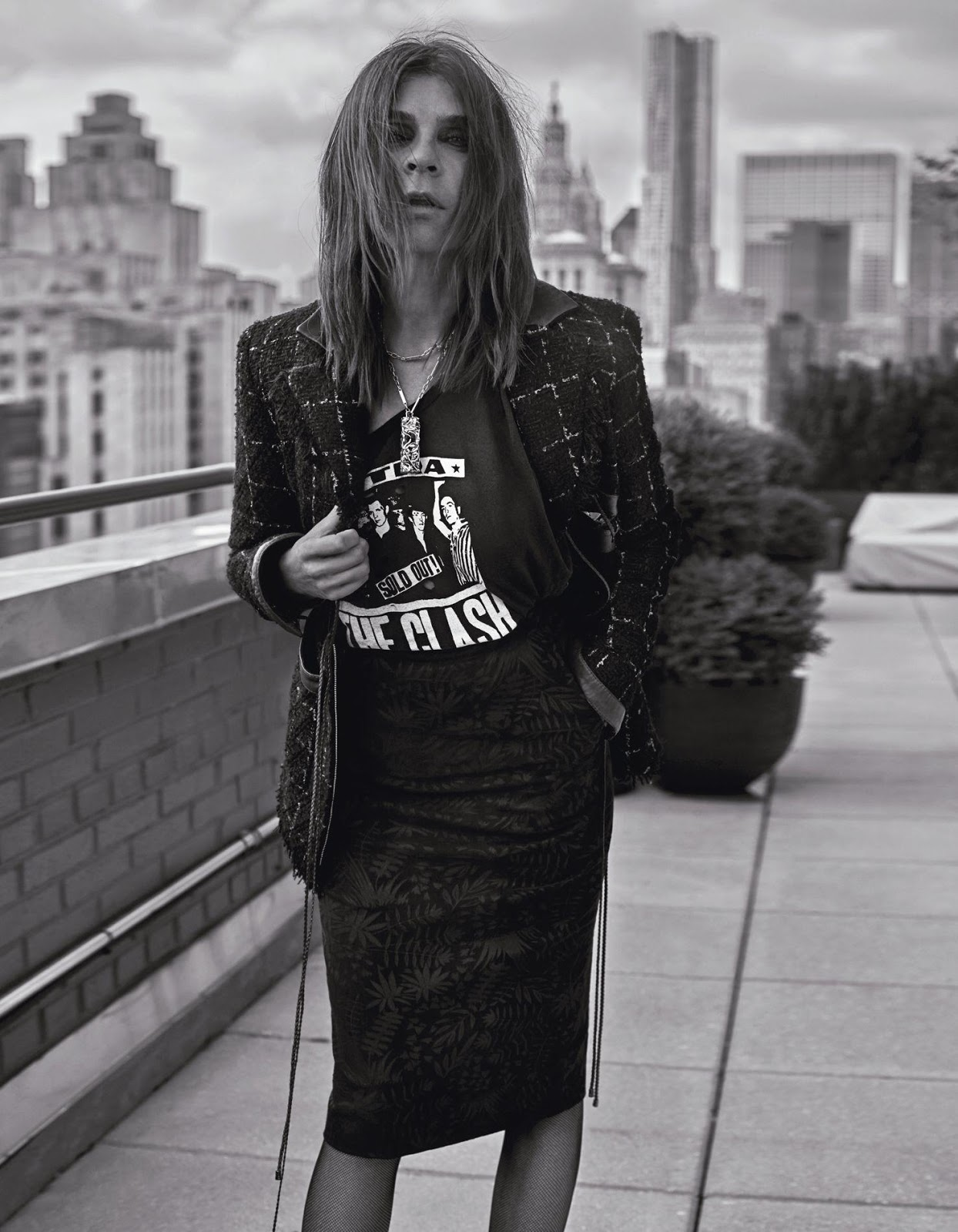 Smile Carine Roitfeld In Madame Figaro Sept 30th 2016 By