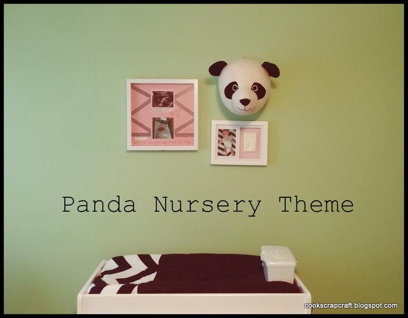 Cook Scrap Craft Panda Nursery Theme