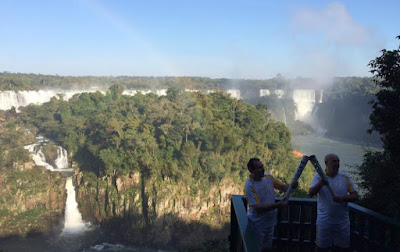 Olympic Torch Relay Visits Iguacu Falls