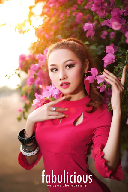 Thinzar Nwe Win - Myanmar Model Girls