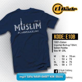 Katalog Terbaru Kaos Dakwah Islami EL-BADR KLIK DISINI