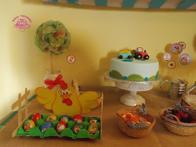 Mesa dulce granja