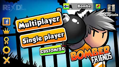 Bomber Friends Apk + Mod for Android Multiplayer Game