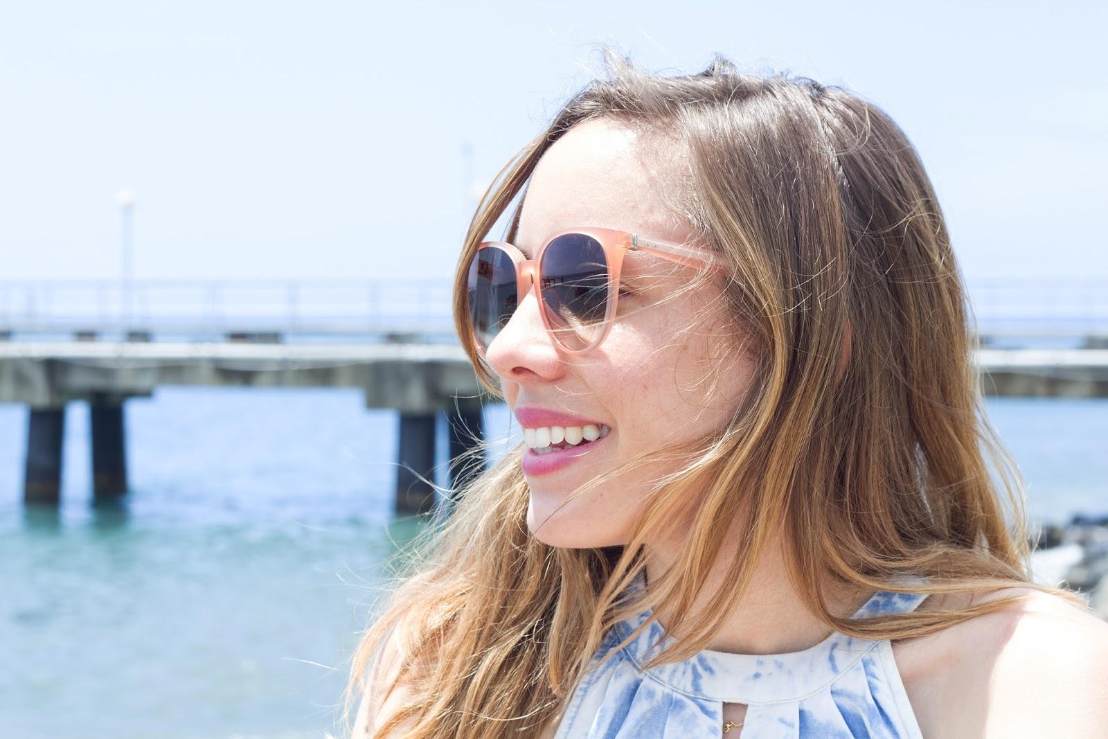 lunettes soleil Céline rose