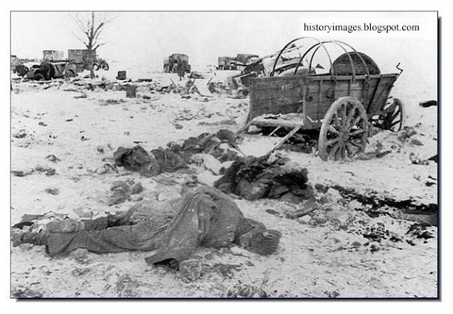 Massacred German soldiers Korsun