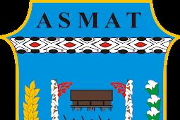 Portal Kecamatan di Kabupaten Asmat