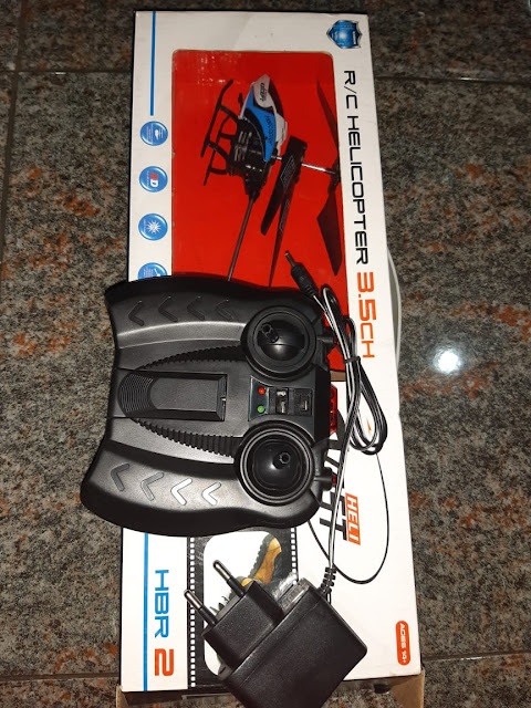 Remote Control Helicopter Plus Charger Free Baterai