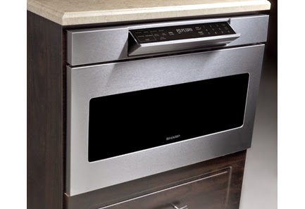 Sharp Microwave Drawer With Hidden Controls
