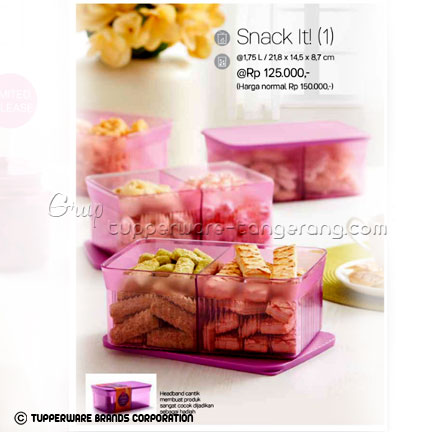 Snack It ~ Katalog Tupperware Promo Juni 2016