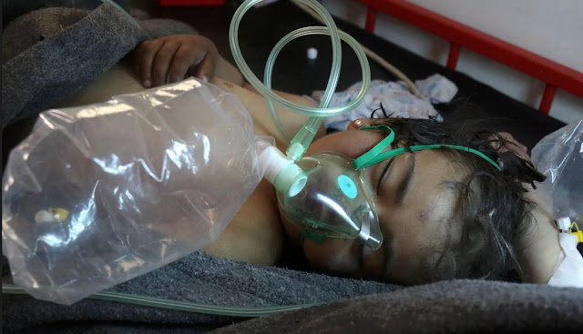 A Large Number of Civilians Became Victims of a Chemical Attack in Syria! Children are the Most Affected! Terrifying!