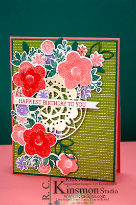 Needlepoint Nook suite, Rick Adkins, Stampin' Up!