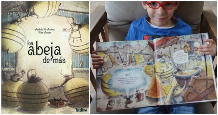 cuentos para enseñar valores niños: la abeja de más, integración social, convivencia