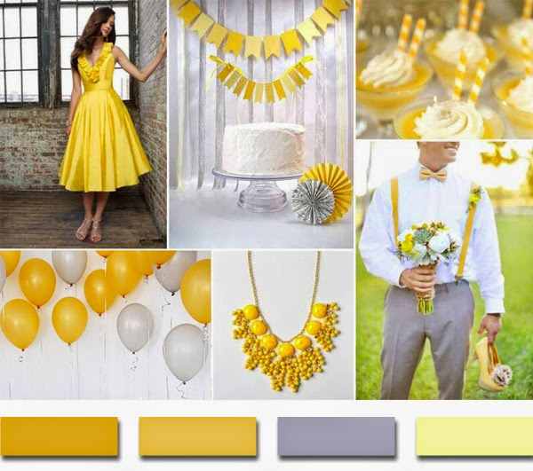 Wedding Ideas By Colour: Jessica's Events : Fall Wedding Trends- Yellows, Grays