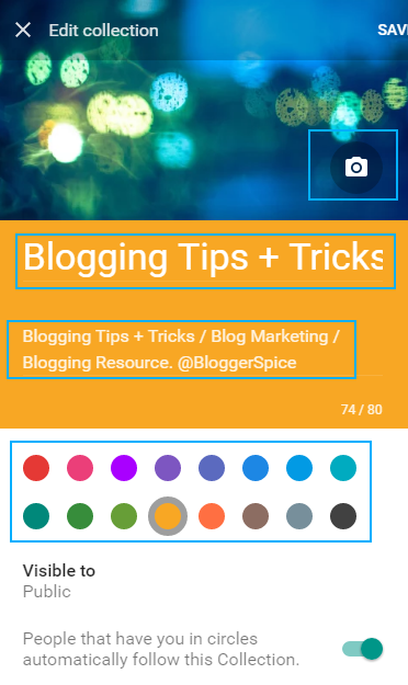 Blogging Tips + Tricks collections