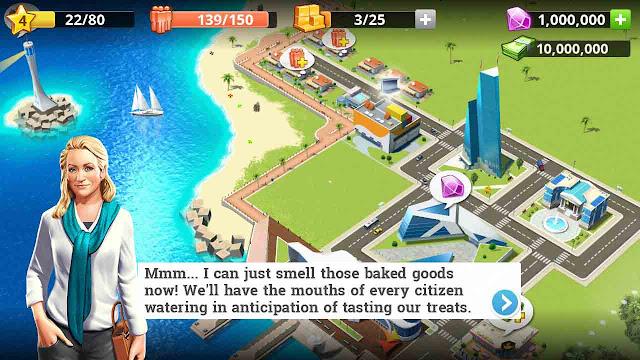 Cheat little big city 2 banyak uang dan diamond