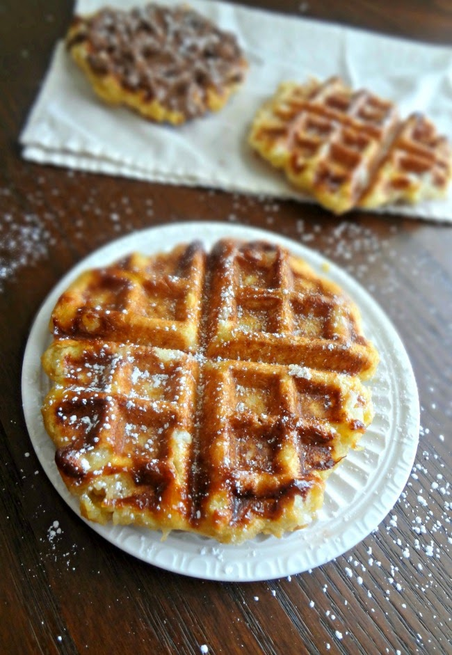 Browned Butter Belgian Liege Wafels
