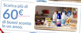Logo Parmalat Club Buon Per Me: scarica fino a 60 euro di buoni sconto e un mondo di vantaggi