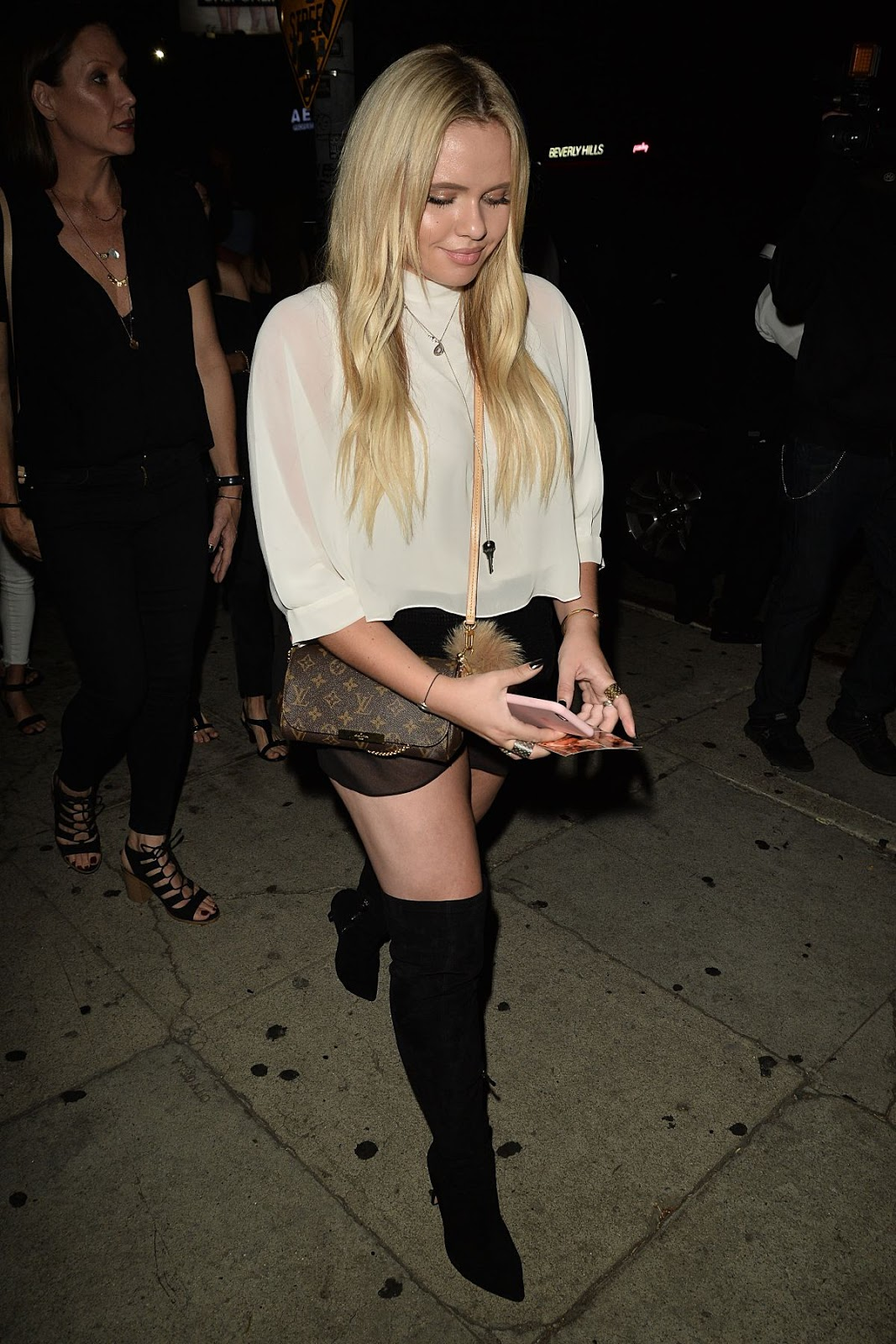 HD Photos of Alli Simpson Night Out In West Hollywood