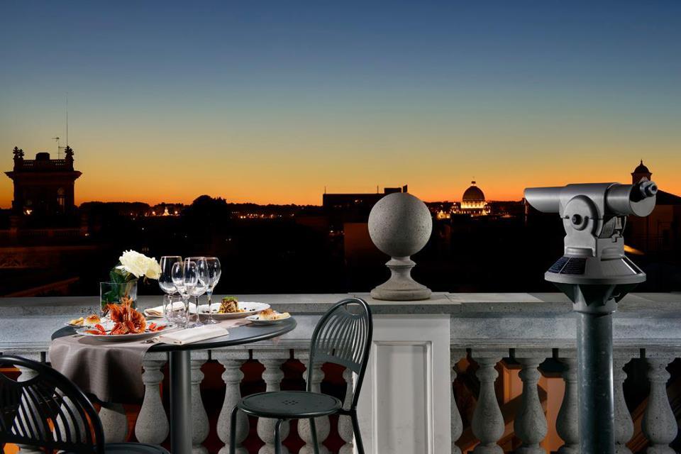 Terrazze Gourment Le Più Belle Terrazze Di Roma Da Vedere E