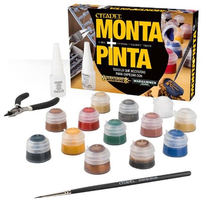 Aproximaci n a los materiales para montar y pintar minis - Materiales para pintar ...