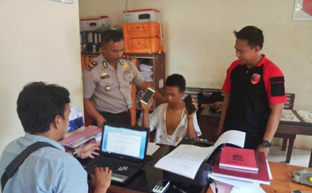 Resedivis Curi Handphone Ditangkap Polisi