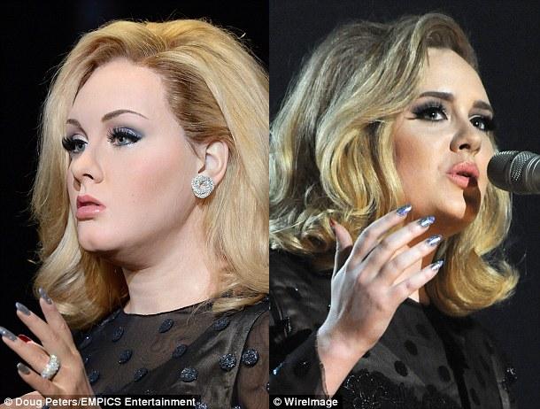 Adele waxwork pic