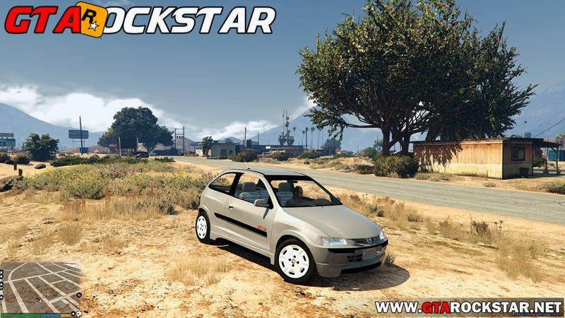Chevrolet Celta Energy para GTA V PC