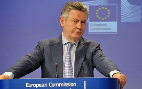 Trade Commissioner Karel De Gucht TTIP