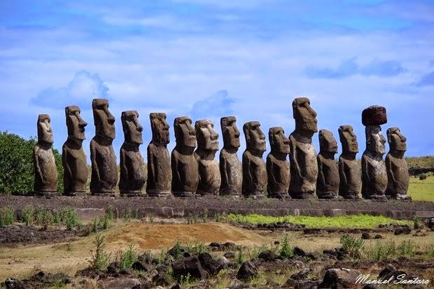 Isola di Pasqua, Ahu Tongariki