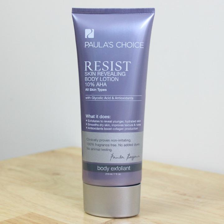 Paula's Choice RESIST Skin Revealing Body Lotion with 10% AHA tube