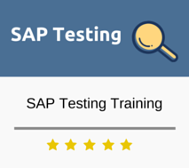 SAP Testing Training