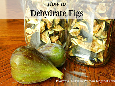 how to dry figs