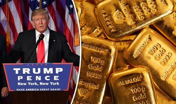Precio del oro sube por Donad Trump