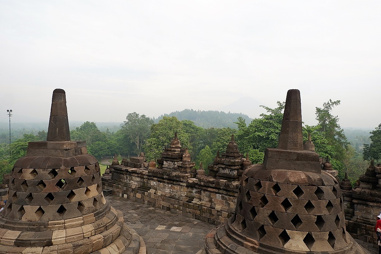 amazing shot of Borobudur