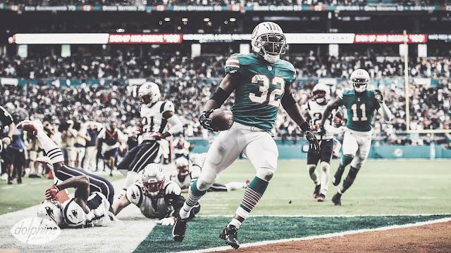 FÚTBOL AMERICANO - Miami gana y complica la vida a los Patriots con un final apoteósico